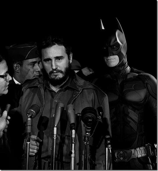 Super Hérois inseridos em foto de Contexto Histórico  (6)
