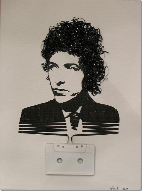 retratos feitos com fita cassete e VHS Erika Iris Simmons (3)