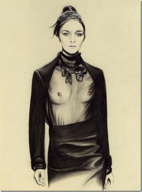 Fashion Ilustração  Caroline Andrieu  Portfólio (9)
