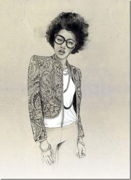 Fashion Ilustração  Caroline Andrieu  Portfólio (17)