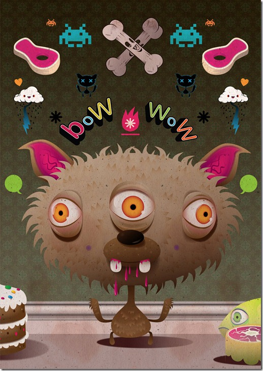 Poked estudio de art design gráfico 3d ilustração animação (9)
