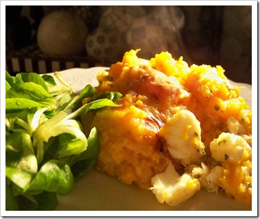 parmentier poisson patates douces 2