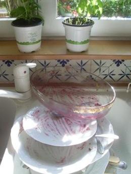 vaisselle crumble