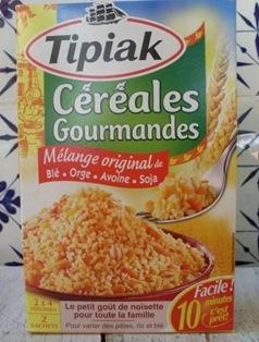 paquet céréales gourmandes