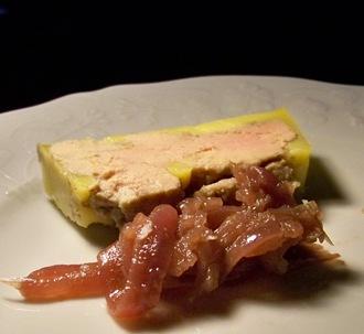 foie gras oignons rouges 2