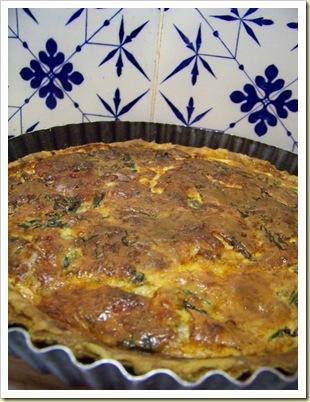 tarte épinards gorgonzola 1