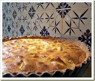 tarte pommes ricotta mascarpone 1