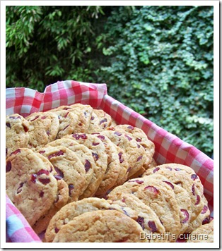 cookies aux cranberries 2