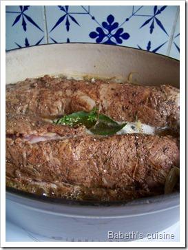filet mignon aux endives avant cuisson