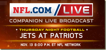 watch new york jets vs new england patriots live game online