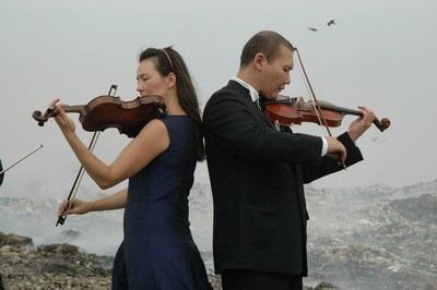 Gulnara Kasmalieva and Muratbek Djumaliev