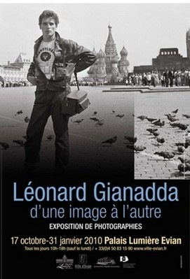 Affiche de l'exposition Leonard Gianaldda, 2009-2010