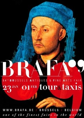 Affiche de la BRAFA 2009