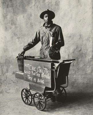 IRVING PENN, Chestnut Vendor, New York, 1951