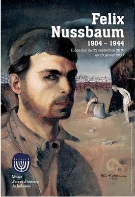 Affiche de l'exposition Felix Nussbaum