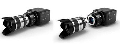 Sony NXCAM professional camcorder under development. Photo courtesy Sony