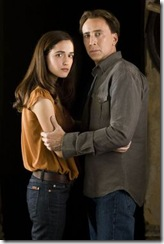 Nicolas Cage and Rose Byrne in Knowing movie