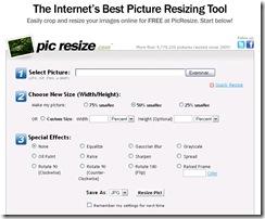 redimencionar imagenes en linea