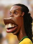 Caricatura do Ronaldinho Gaucho