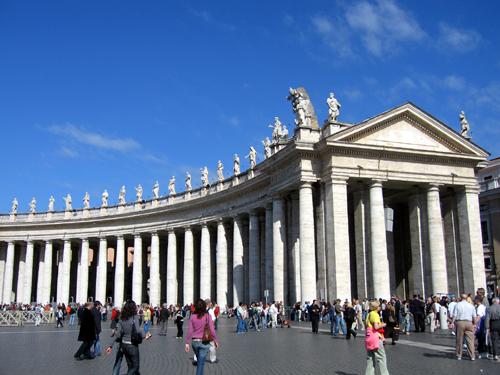 Cung điện thánh Peter nổi tiếng ở Vatican