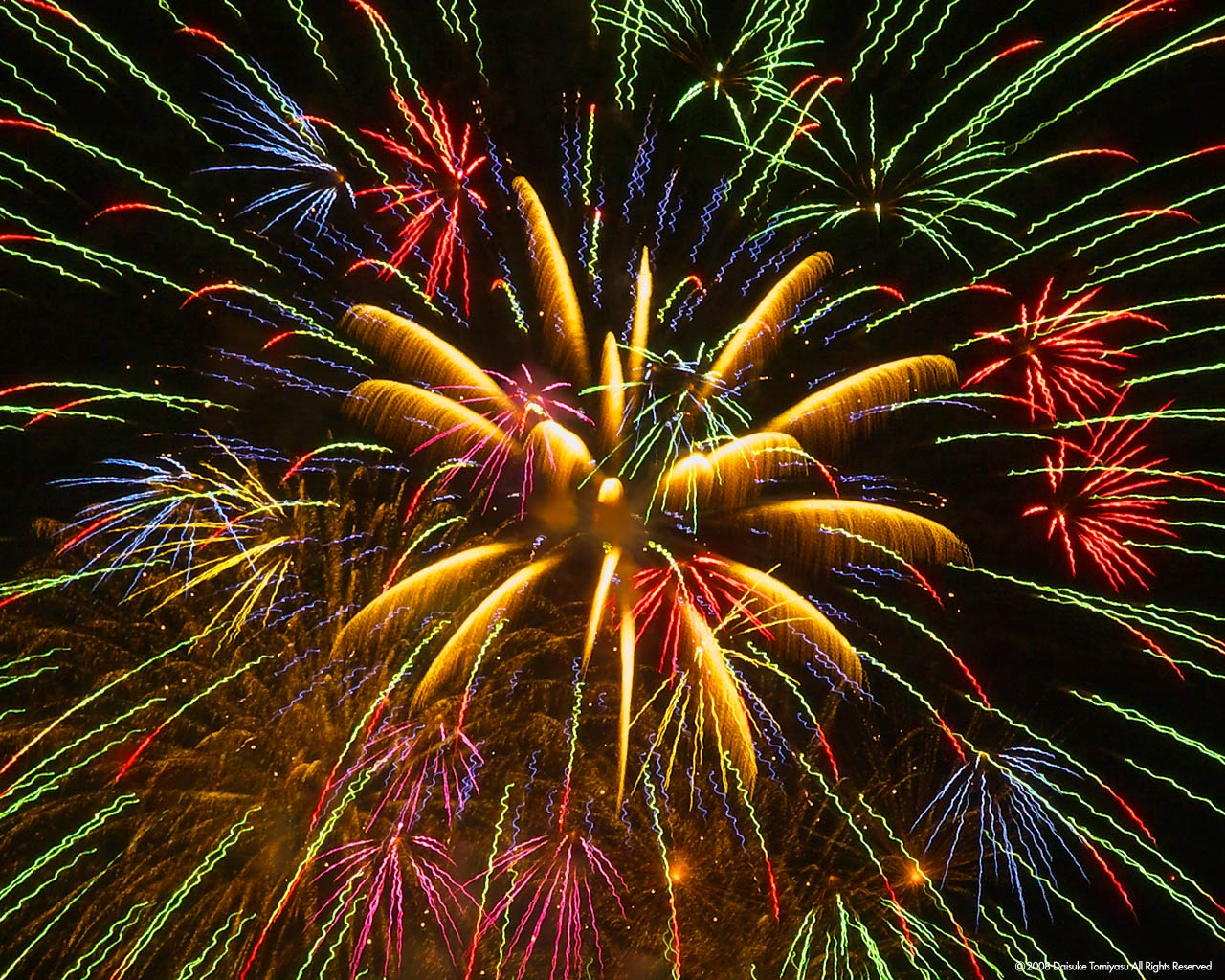 Free Animated Fireworks Clipart