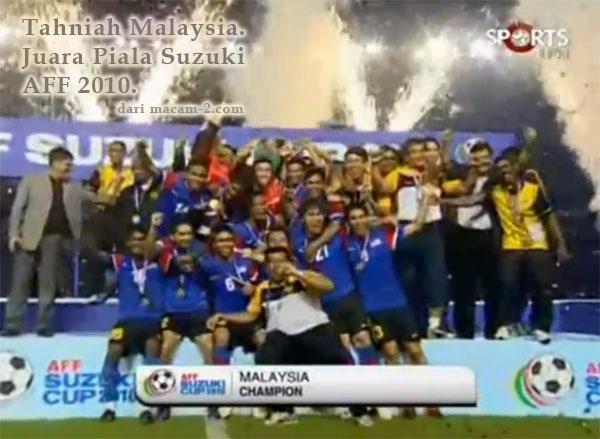 Malaysia Juara Piala Suzuki AFF.