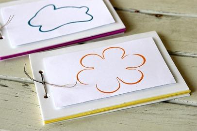 Handmade Spring Memory Book