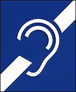 Deaf logo