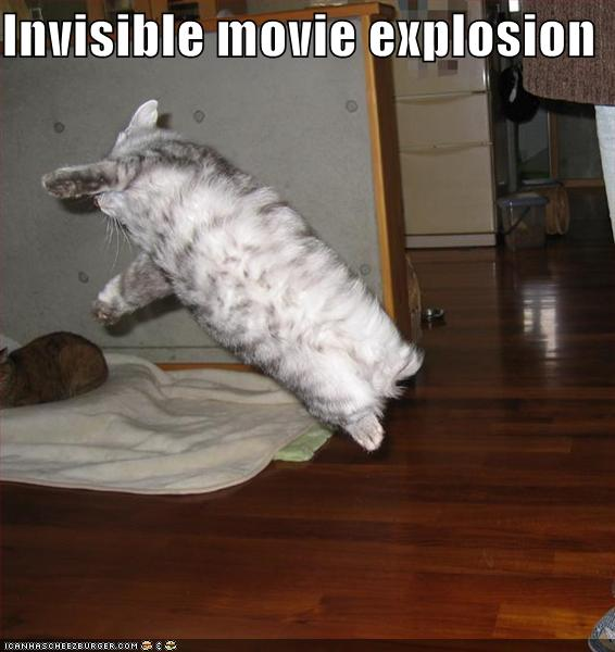 Inivisible movie explosion