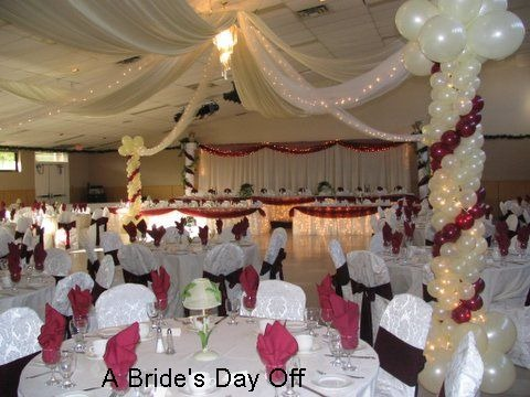 wedding hall decorations baloon