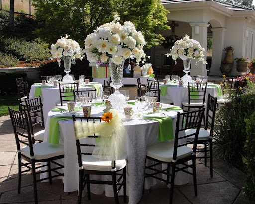 Home Backyard Wedding : Outdoor Wedding Decorating Ideas Photograph  all within the