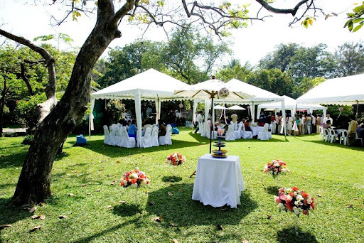 Lucretia 39 s blog here 39s a wedding that the guests will for Outdoor tent decorating ideas
