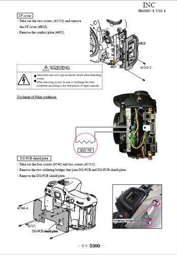 nikon d300 dslr repair manual
