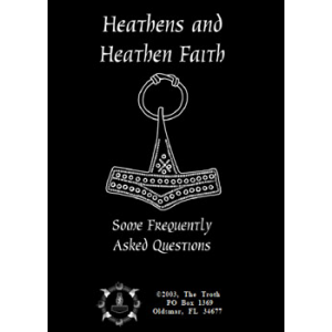 Heathens And Heathen Faith Some Frequently Asked Questions Cover
