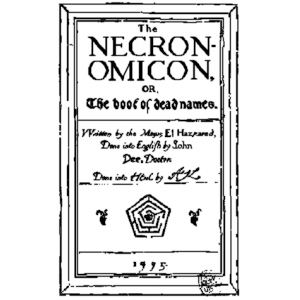 Al Azif The Cipher Manuscript Known As Necronomicon Cover