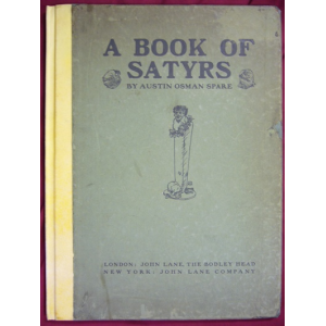 A Book Of Satyrs Cover