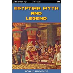 Egyptian Myth And Legend Cover