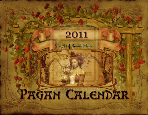 Pagan Calendar Of Days For 2011 Cover