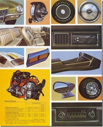 Catalogo Camaro 1973