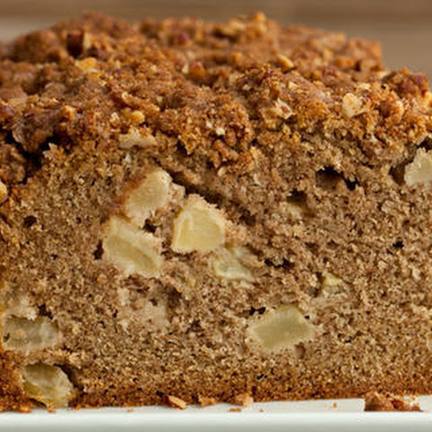 Apple Quick Bread with Pecan Streusel