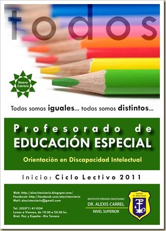Educación Especial [50%]