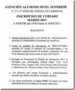 Inscripciones 2011 [50%]