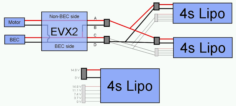 4s parallel on EVX2 with lipo evx 2 problem traxxas evx 2 wiring diagram at n-0.co
