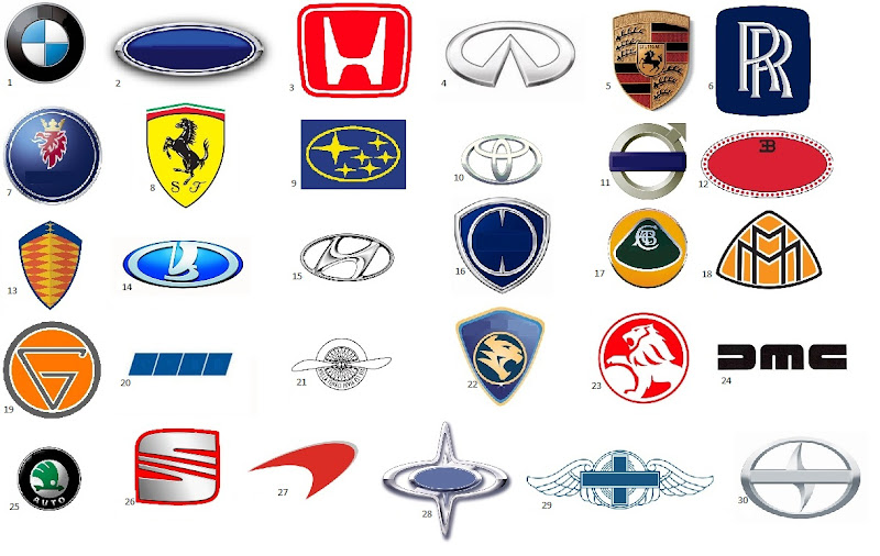 Name That Car Manufacturer Quiz By Mcgcc - Car sign with names