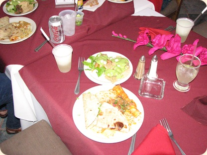 Sue's  B'Day Dinner 017
