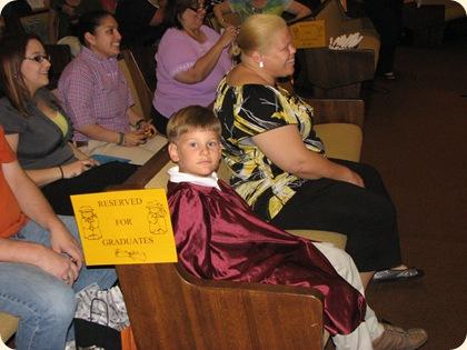 Matthew's Pre-K Graduation 005