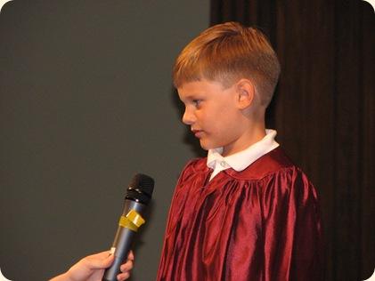 Matthew's Pre-K Graduation 009