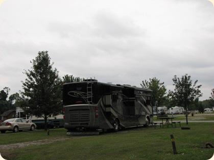 Arrival at Tellico Plains KOA 003