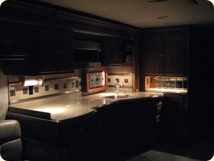 Halogen Lights on Kitchen Cabinet 014