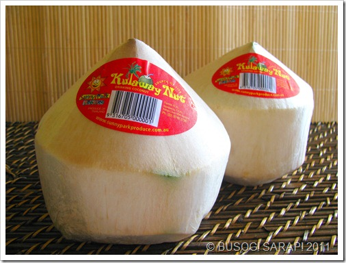Packaged Buko&#169; BUSOG! SARAP! 2011